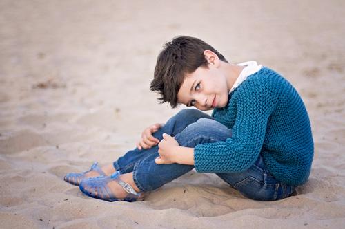 niño-playa