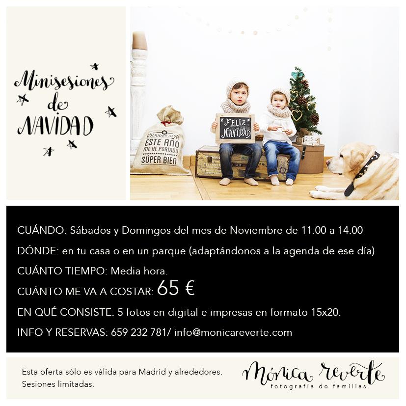 MINISESIONES DE NAVIDAD 2015