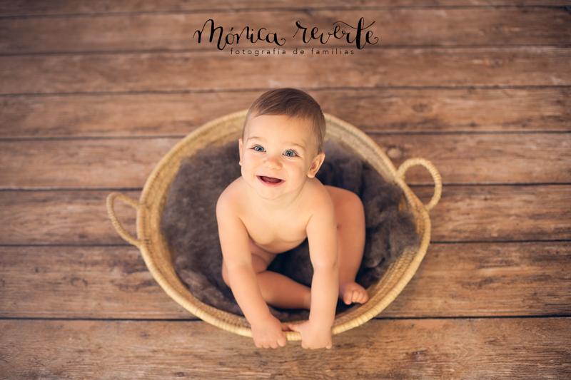 Fotografía de bebés en Madrid: Mi bebé crece