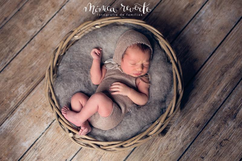 Fotografía de recién nacido en Madrid