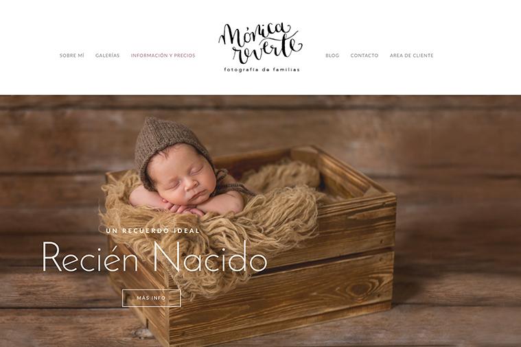 Fotografia de familias en Madrid: Estreno nueva web