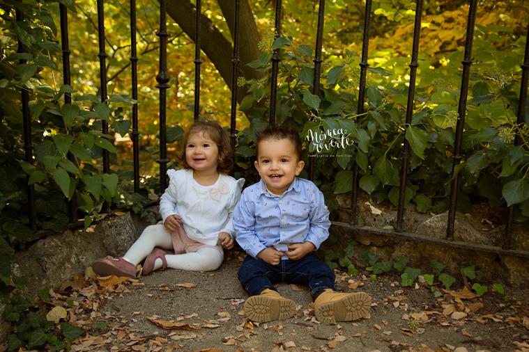 Fotografia de niños Madrid: Hacerse fotos en Otoño es un buen plan.