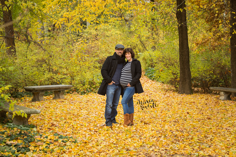 Fotos embarazada Madrid: reportaje de embarazo en Otoño