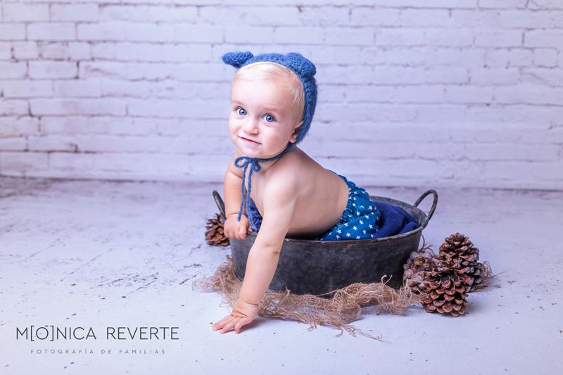 Sesión de fotos con bebé de 6 meses en Madrid