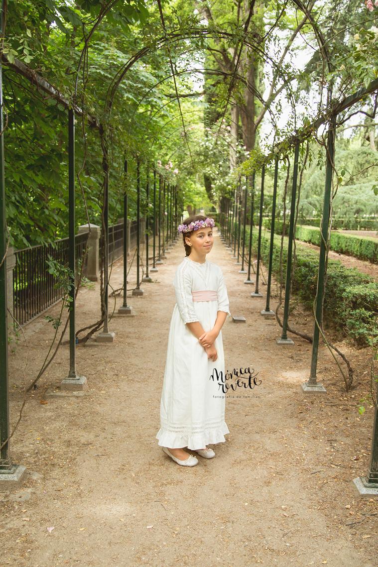 Reportaje de Comunión en Madrid: Mi niña se hace mayor
