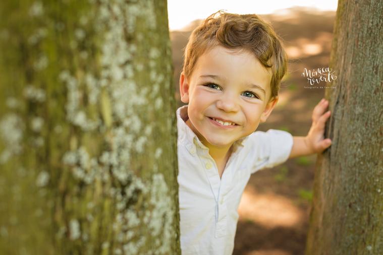 Fotos de niños Madrid: minisesión de mi familia en el Parque del Capricho