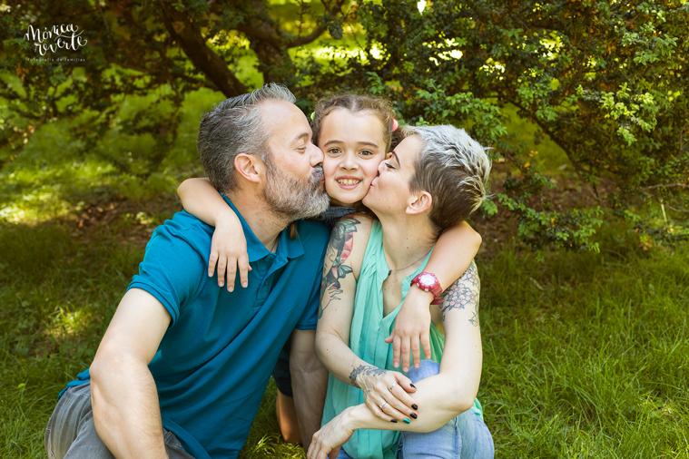 Sesión de fotos familiar en Madrid: Familias preciosas que repiten