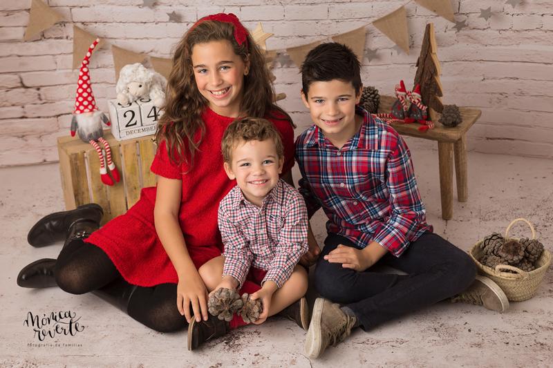 Sesiones de fotos de familia en Madrid: Feliz Navidad y Próspero Año 2019