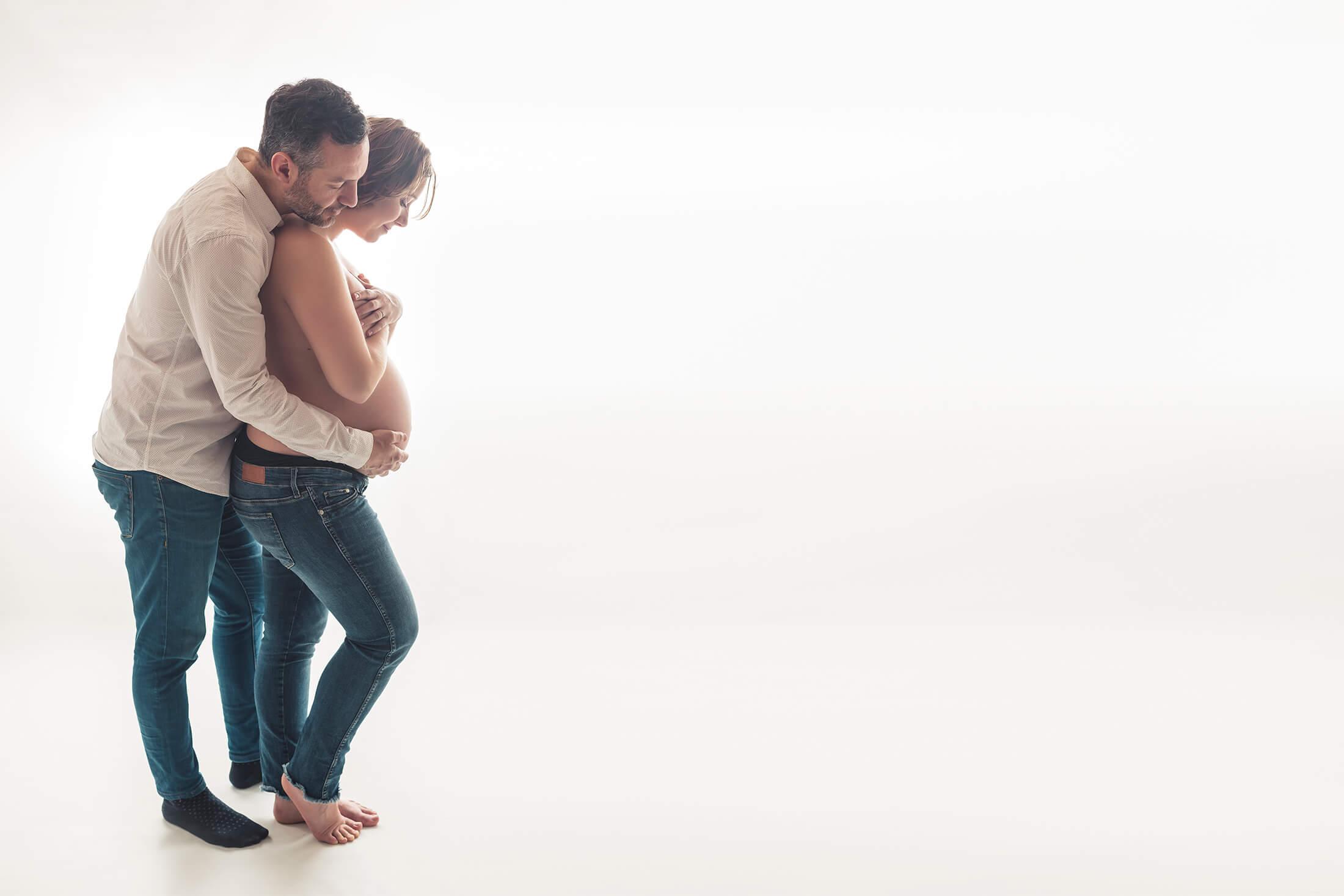 Sesión fotográfica de embarazo en Madrid