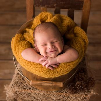 Fotógrafa de recién nacidos Monica Reverte