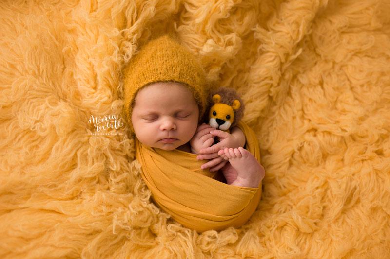 sesión de fotos newborn en estudio en madrid