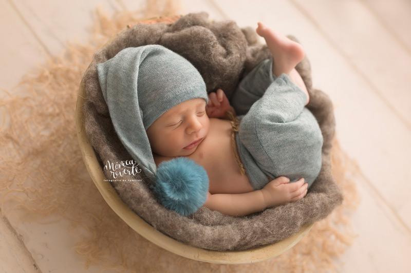 Sesión de fotos newborn natural artística
