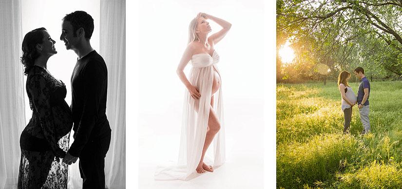 Sesiones fotográficas de embarazadas en Madrid