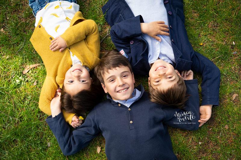 Sesiones de fotos de niños y familias en madrid