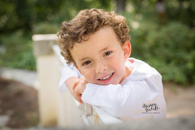 fotógrafo de niños y familias en Madrid