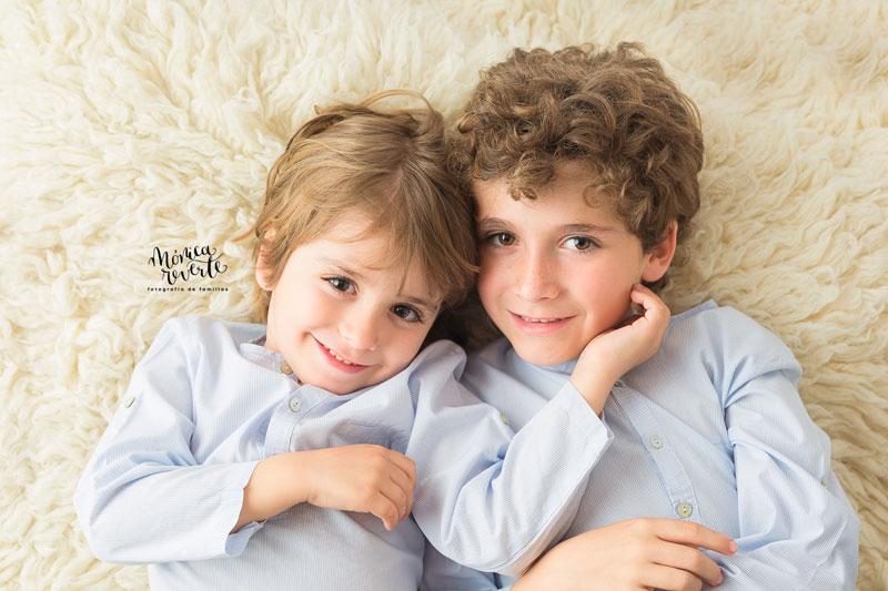 Estudio de fotografía infantil y familiar en madrid