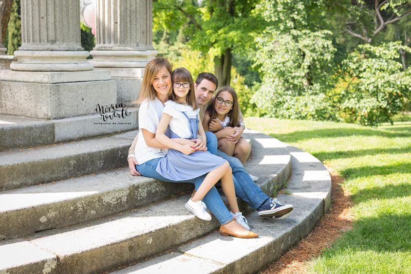 Sesión de fotos de familias en madrid precio