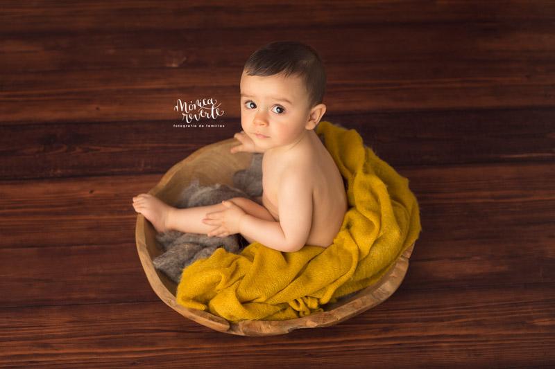 Sesión de fotos de bebés en Madrid bonitas y originales