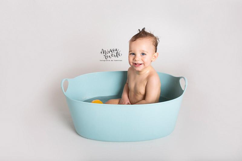 Estudio fotográfico de bebés en Madrid - Sesión de fotos