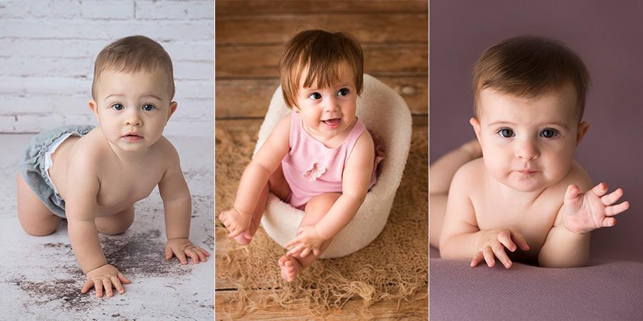 Sesión de fotos de bebés en Madrid