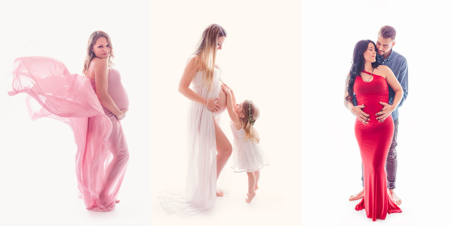 Sesión de fotos de embarazo en Madrid