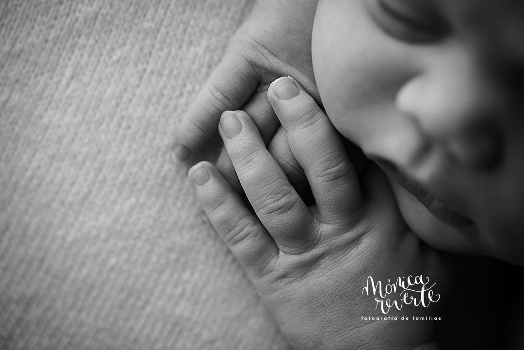 sesión de fotos de recién nacido en Madrid