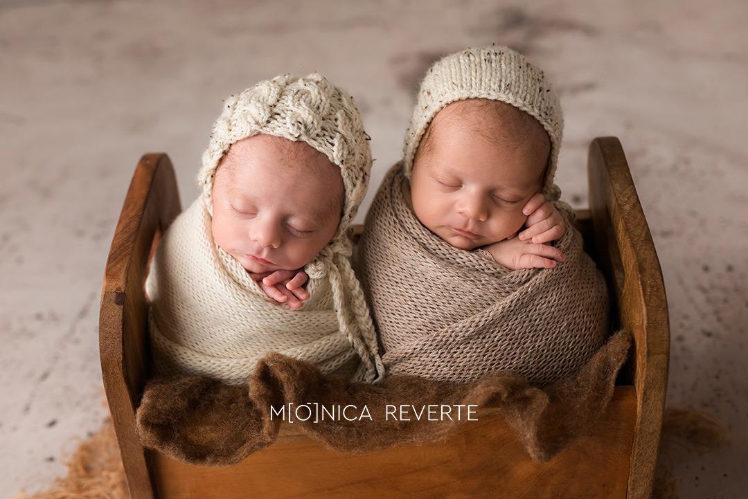 estudio sesión de fotos de recién nacido en Madrid