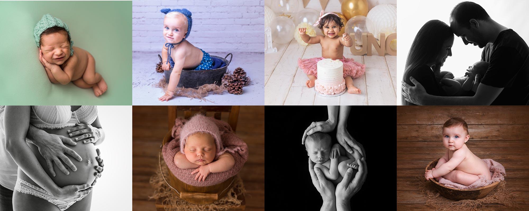 Fotógrafa de recién nacido, embarazadas y bebés en Madrid