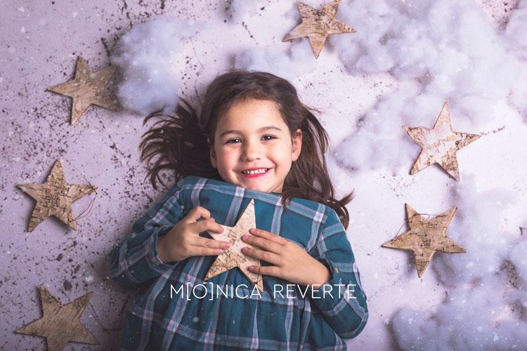 Sesión de fotos navideña de niños y bebés en Madrid